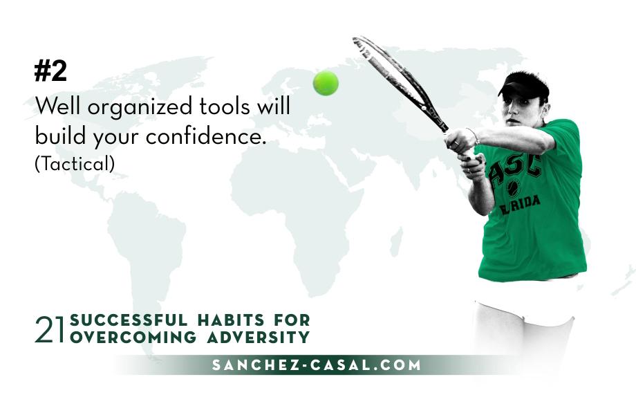 #2 «Abilità ben organizzate per costruire la tua fiducia»