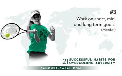 # 3 «Lavora su obiettivi di breve, medio e lungo termine»