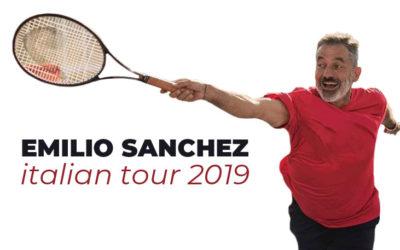 Emilio Sànchez clinic tour 2019 in Italia