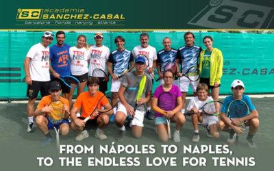 La Accademia Tennis Napoli porta allievi da Sànchez in Florida