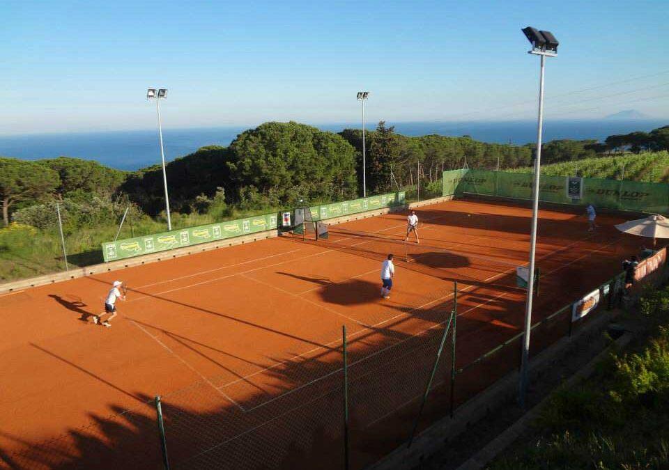 Tennis all'Elba. Una vacanza che dura dal 2004