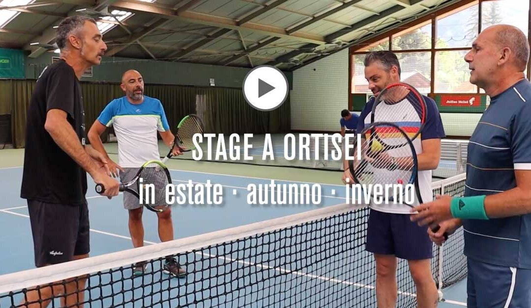 Tennis a Ortisei. Molto più di un semplice weekend